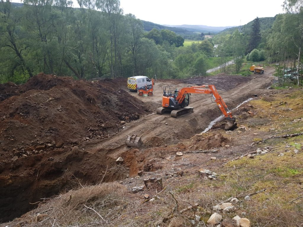 Current Drainage, Foundations and Construction Projects